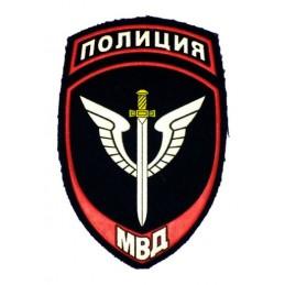 """Naszywka """"MWD - Policja"""" - Pododdziały Specjalne, wz12"""