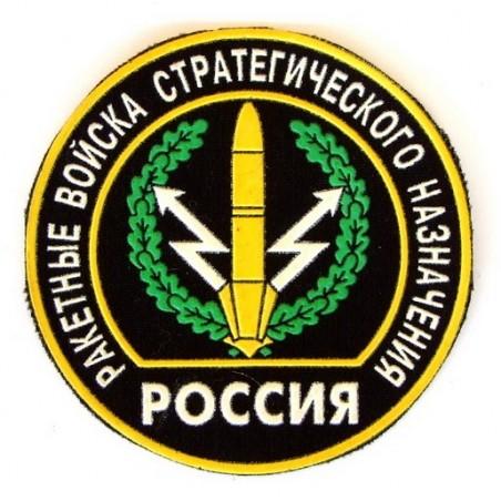 """Naszywka """"Rakietowe Wojska Strategicznego Przeznaczenia"""" - rodzaj wojsk"""