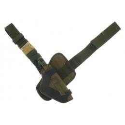 Kabura KO-3 na pistolet APS - udowa - oliwkowa