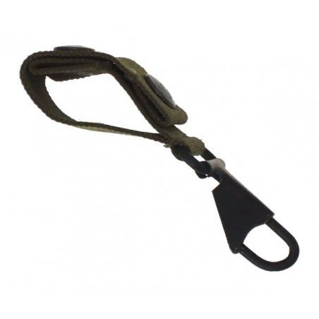 Belt loop with the snap-hook, black
