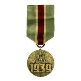 """Medal """"Za udział w Wojnie..."""