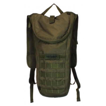 Irrigating system - backpack for 2L or 3L container, olive
