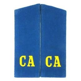 """Pagony """"CA"""" (""""SA"""") niebieskie"""