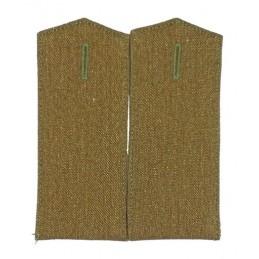 Epaulets for gimnastiorka - green
