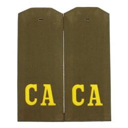 """Pagony """"CA"""" (""""SA"""") do koszuli"""