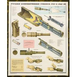 Plakat: Ręczny granat...