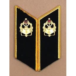 Patki do mundurów wyjściowych Wojsk Inżynieryjnych z korpusówkami
