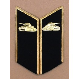 Patki do mundurów wyjściowych Wojsk Pancernych z korpusówkami