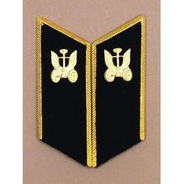 Patki do mundurów wyjściowych Wojsk Samochodowych z korpusówkami