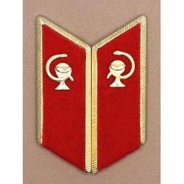 Patki do mundurów wyjściowych Służby Medycznej z korpusówkami