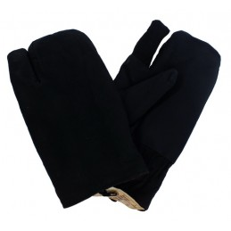 Winter gloves, shooter, black
