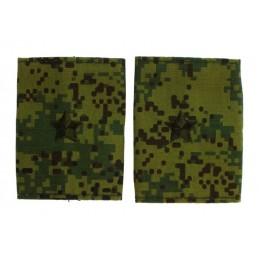 Epaulets for major, camouflage
