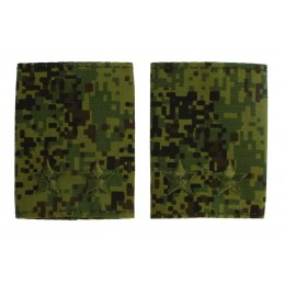 Epaulets for lt. colonel, camouflage
