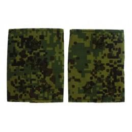 Epaulets for captain, camouflage