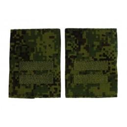 Epaulets for junior sergeant, camouflage