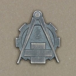 """Insignia/badge """"Service of the Accommodation and Constructions"""""""