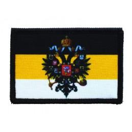 """Naszywka """"Imperium Rosyjskie z herbem"""", z rzepem"""
