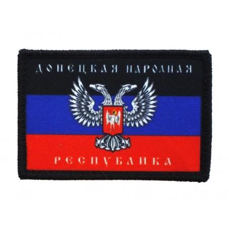 """Naszywka """"Doniecka Republika Ludowa"""", z rzepem"""