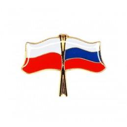 """Odznaka """"Przyjaźń Polsko-Rosyjska"""""""