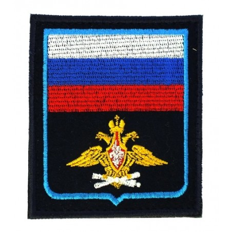 """Russia - VVS"" (Air Force) patch, embroidered, with velcro, PR300"