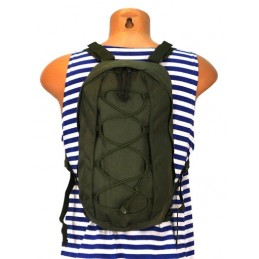 Irrigating system - pouch-backpack for 2L or 3L container, olive, MOLLE