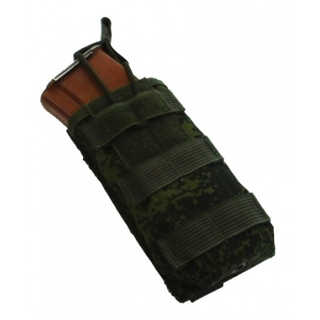 TI-P-1AK-Sh Assault pouch for 1 AK magazine, Digital Flora