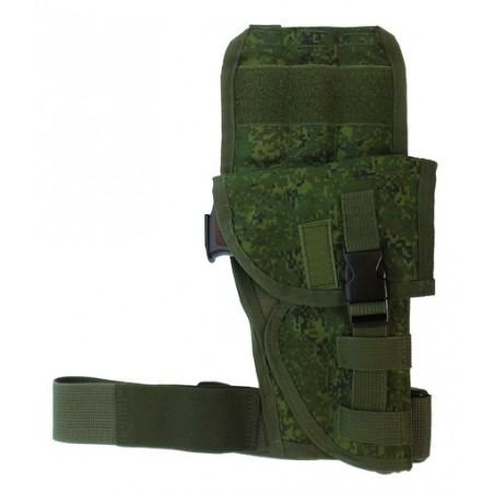 TI-P-KTN-PR Biodrowa kabura uniwersalna na pistolet, prawa, Cyfrowa Flora