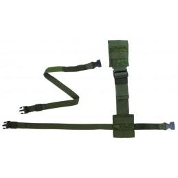 TI-P-UD-KU Extension cord for pouches and holsters, Digital Flora