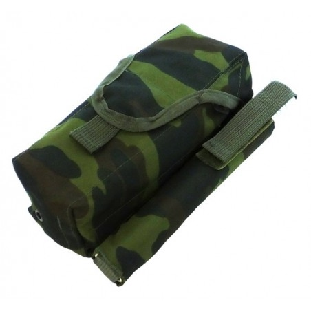 TI-P-2AK-ROPL Pouch for 2 AK magazines and signal flare, left, Flora