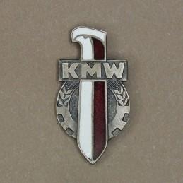 """Badge """"KMW"""" (""""Affiliating..."""