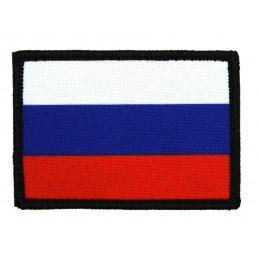 """Naszywka """"Rosja - flaga"""", z rzepem"""