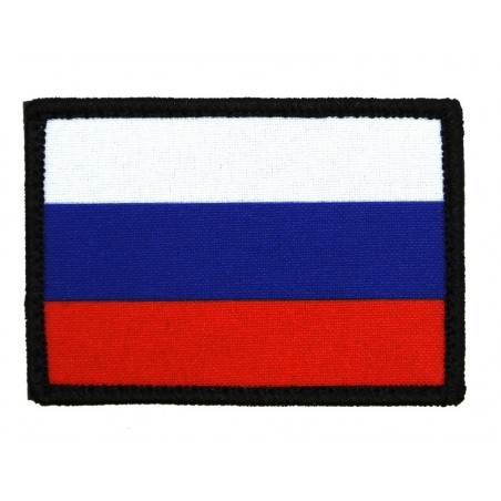 """Patch """"Russia - flag"""", with velcro"""