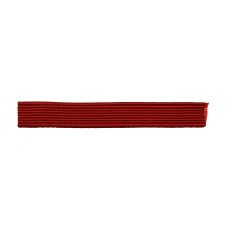 Taśma na pagony - czerwona - 11mm