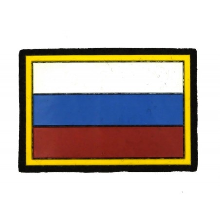 """""""Russian Flag"""" patch, on velcro"""