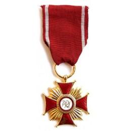 Cross of Merit - PRL - gold