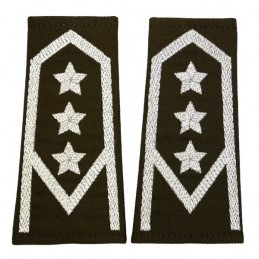 Epaulettes to a parade...
