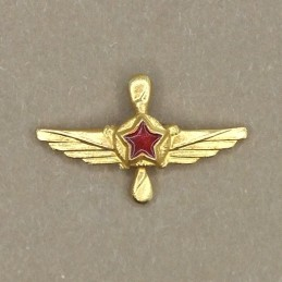 """Aviation Mechanics"" tag - gold"