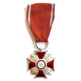 Cross of Merit - PRL - silver