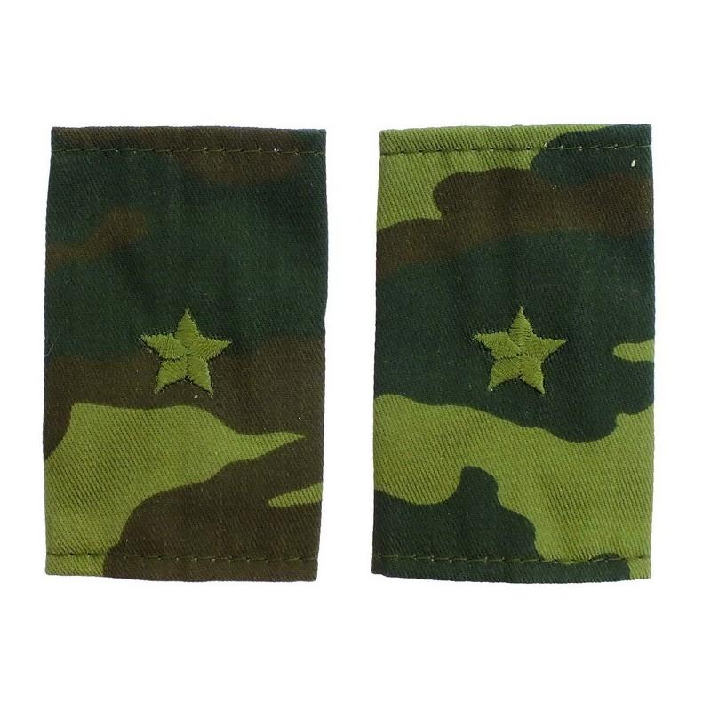 Epaulets for major, camouflage - Flora