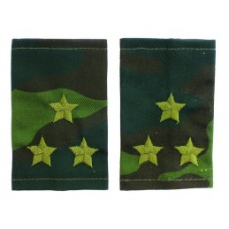 Epaulets for colonel, camouflage - Flora