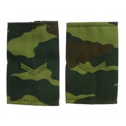Epaulets for corporal, camouflage - Flora