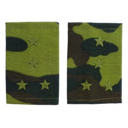 Epaulets for captain, camouflage - Flora
