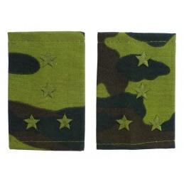 Epaulets for captain, camouflage - Flora