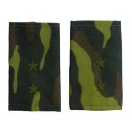 Epaulets for warrant officer, camouflage - Flora
