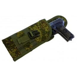 TI-P-KU-LW Kabura uniwersalna na pistolet, lewa, Cyfrowa Flora