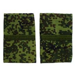 Epaulets for corporal MVD, camouflage - Digital Flora