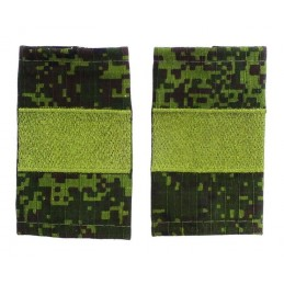 Epaulets for senior sergeant MVD, camouflage - Digital Flora