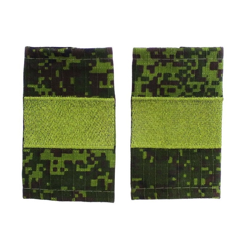 Epaulets for senior sergeant MVD, camouflage - Digital Flora