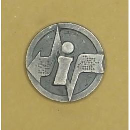 "Insignia/badge ""Informatics Service"" - left"