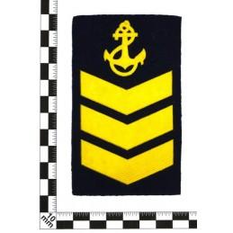 Naszywka dla kursantów uczelni morskich - 3 kurs